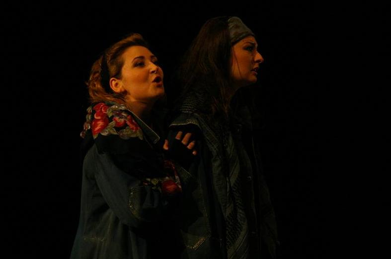1. Norma - Bellini © Cyrille Sabatier - Novembre 2008 – à Opéra Théâtre de Saint Etienne.